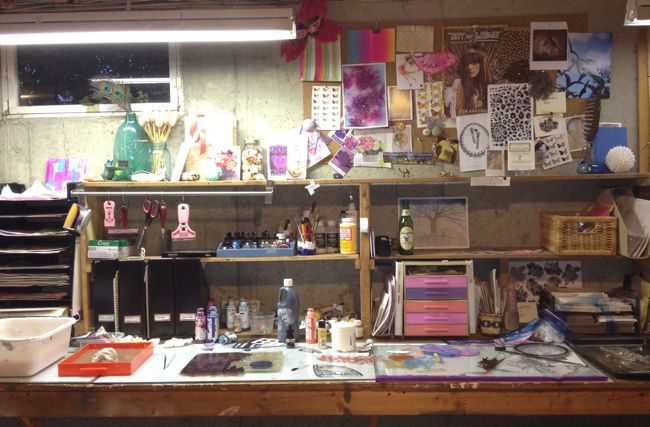Femi Ford: art studio - after