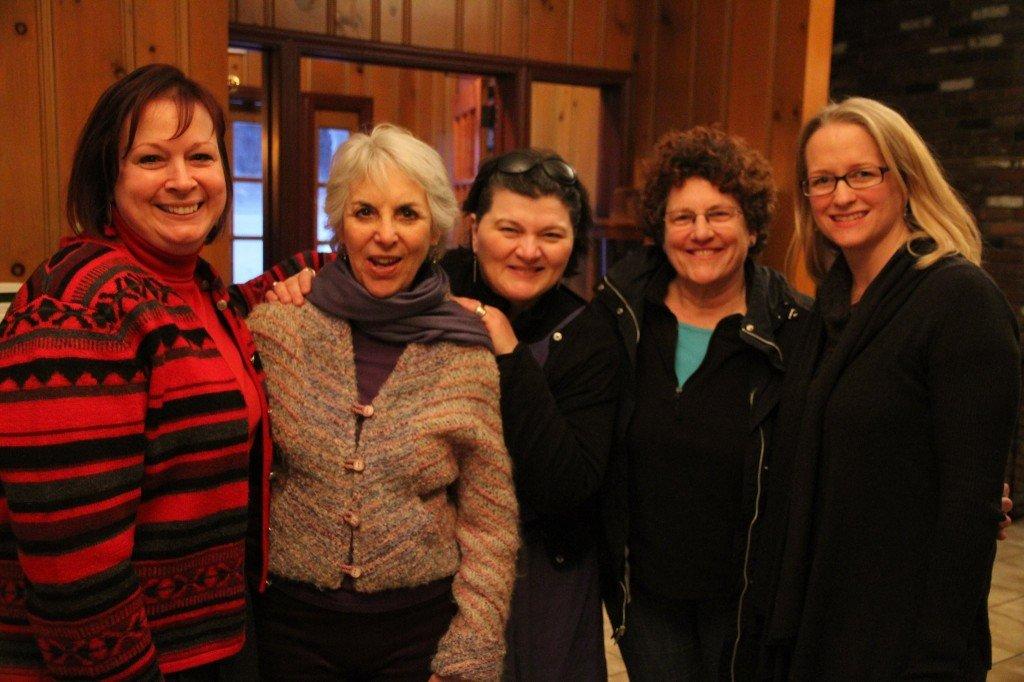Dawn Ansbro, Pat Foxx, Gloria Bonelli, Diane Kominick-Ouzoonian, & me!