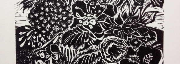 Wild Thing Linocut Art Print