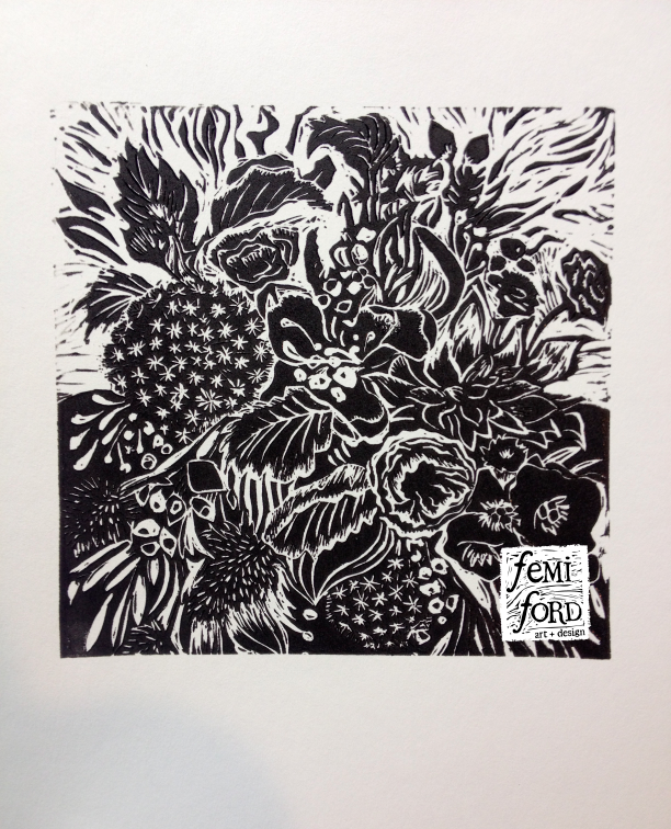 WildThing-Linocut-FemiFord-Art