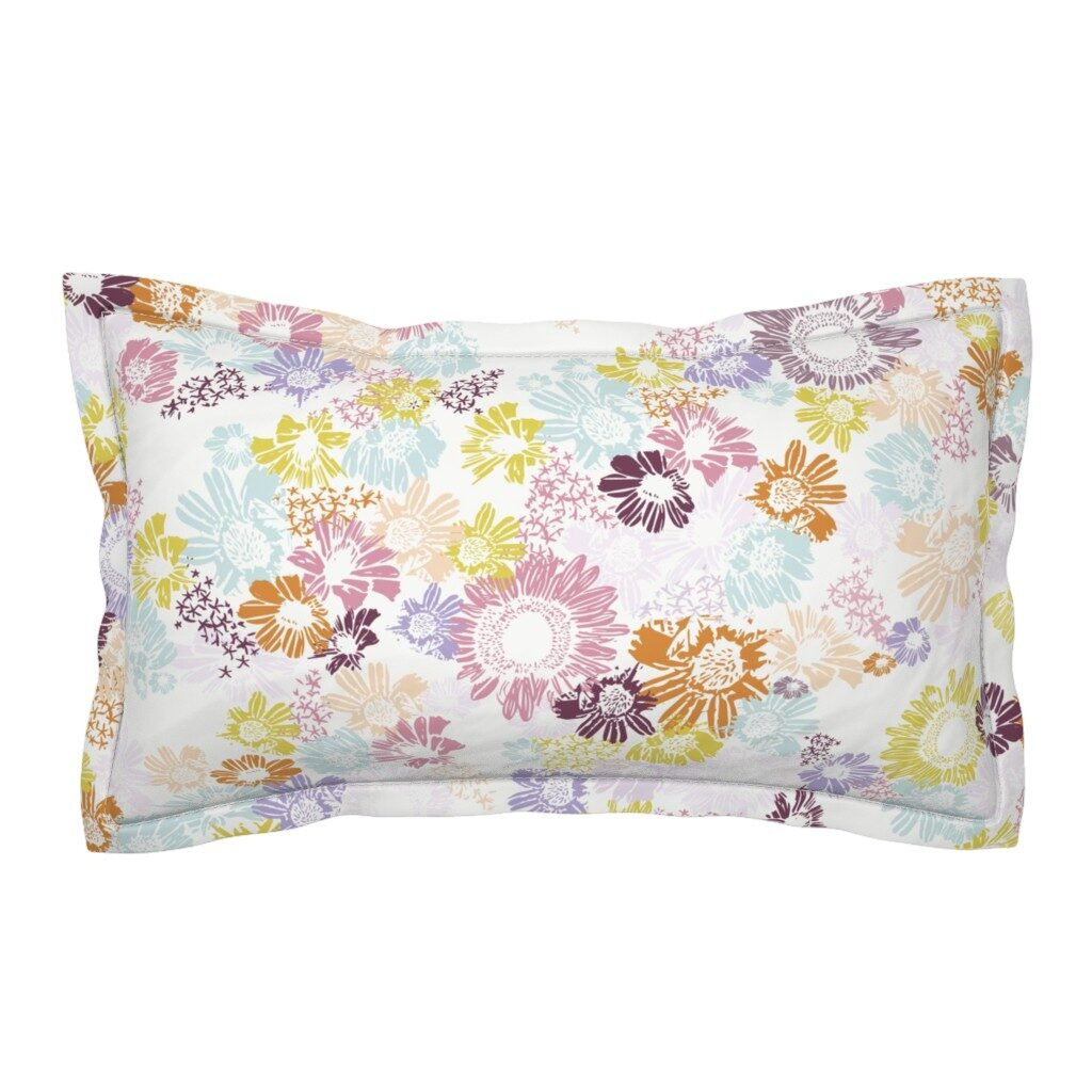 Pillow: Femi Ford Sunflowers
